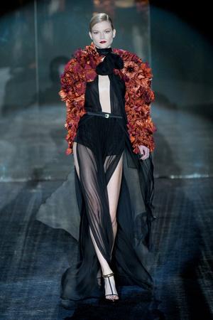 Показ Gucci коллекции сезона Осень-зима 2011-2012 года Prêt-à-porter - www.elle.ru - Подиум - фото 242749