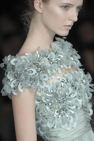 Показ Elie Saab коллекции сезона Весна-лето 2009 года Haute couture - www.elle.ru - Подиум - фото 86576