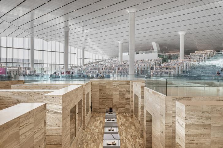 Библиотека по проекту Рема Колхаса (фото 6)