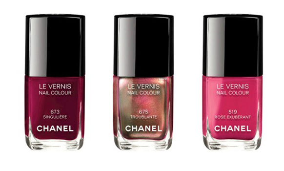 Лаки для ногтей Le Vernis: оттенкиTroublante, Rose Exuberante и Singulière