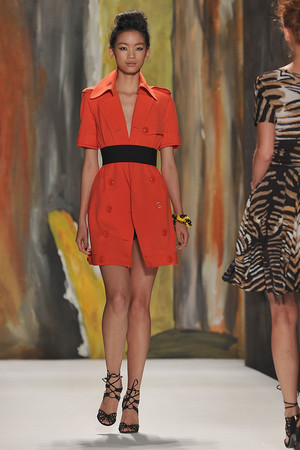Показы мод Tracy Reese Весна-лето 2010 | Подиум на ELLE - Подиум - фото 3073