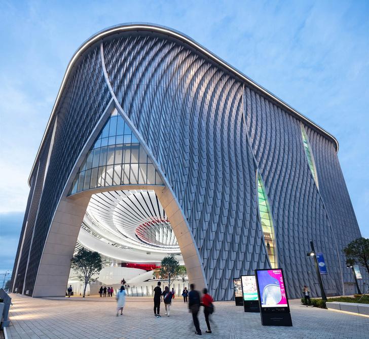 Футуристичный театр оперы в Гонконге (фото 0)