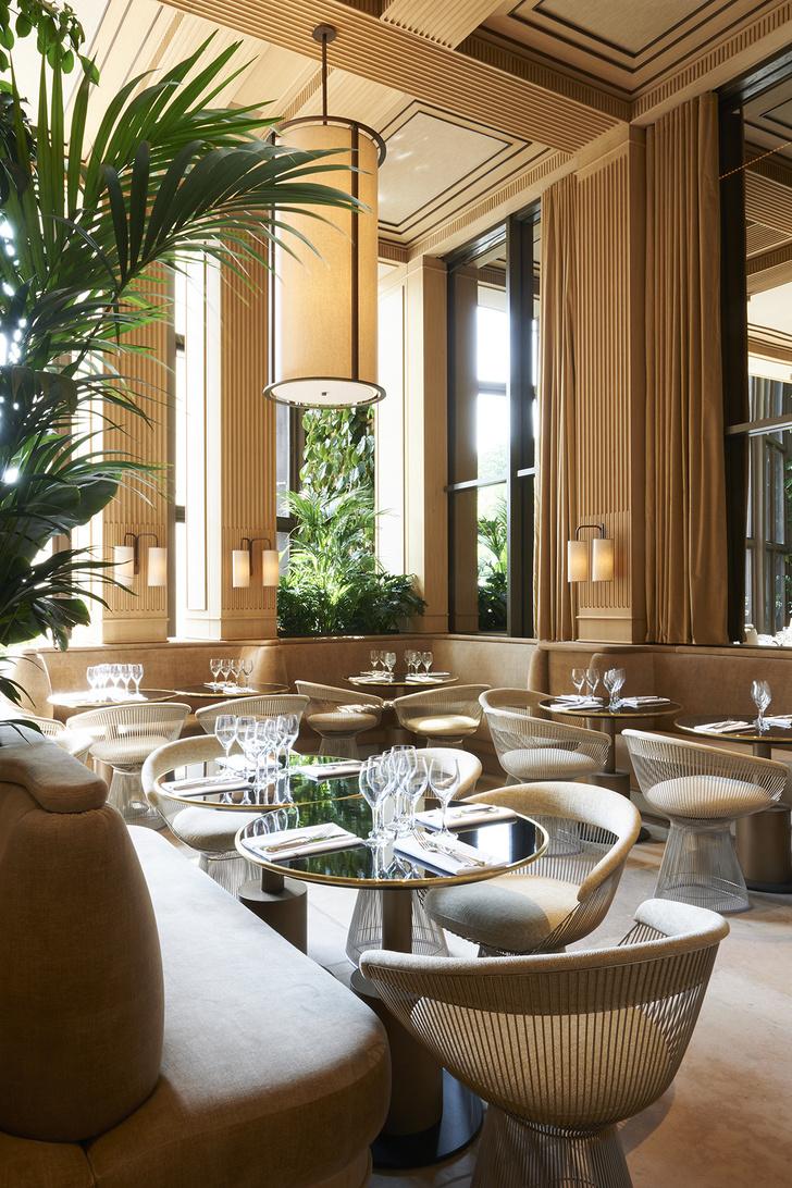 Ресторан Girafe по дизайну Жозефа Дирана в Париже (фото 3)