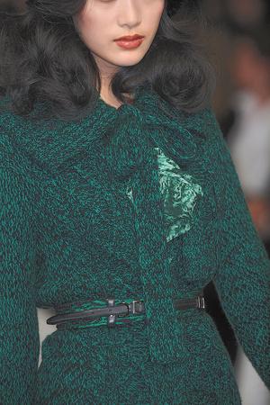 Показ Oscar de la Renta коллекции сезона Осень-зима 2010-2011 года prêt-à-porter - www.elle.ru - Подиум - фото 146472