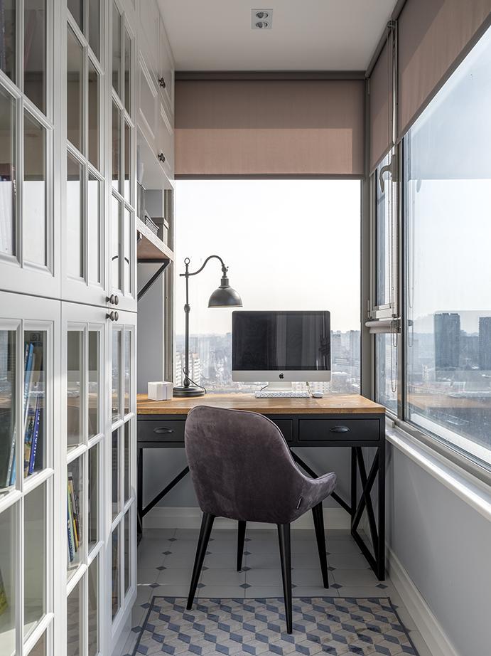 Рабочее место на балконе: 10+ идей и решений (галерея 0, фото 0)