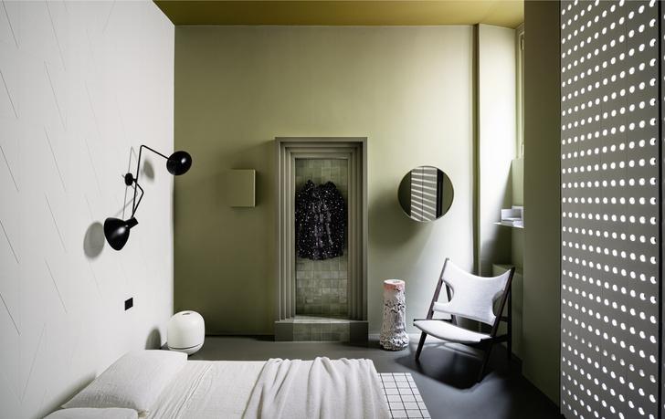Темное царство: квартира в Милане (фото 13)