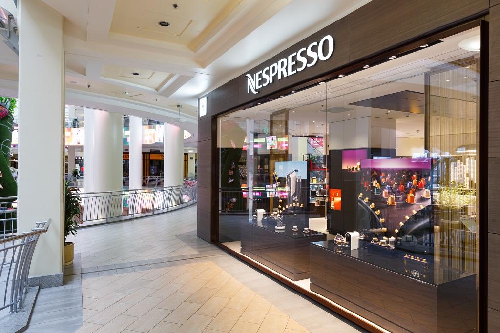 Nespresso, магазин, Атриум, открытие