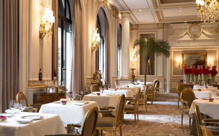 Ресторан Le Cinq Michelin