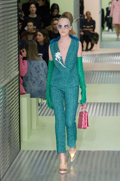 Показ Prada на Неделе моды в Милане | галерея [1] фото [28]
