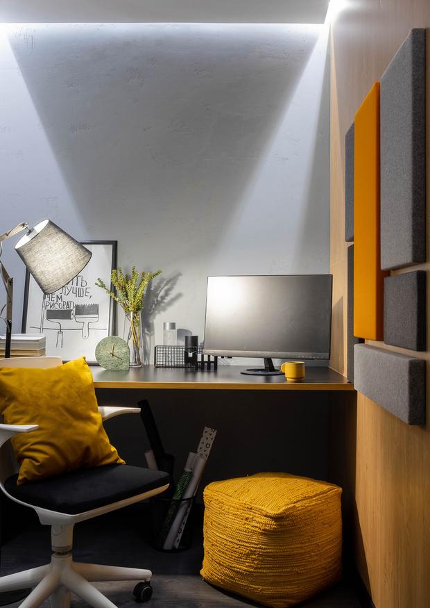 """Квартира 41 м²: проект студии """"Точка дизайна"""" (фото 16)"""