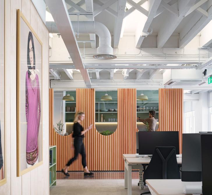 Новый офис Airbnb в Лондоне (фото 4)
