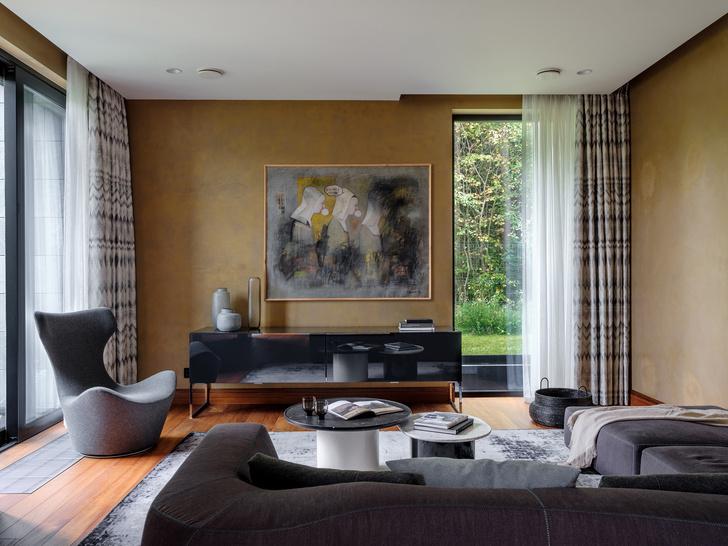 Современный дом  4500 м² с красивым садом на Новой Риге: проект бюро Woodstone (фото 16)
