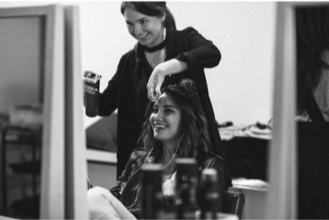 Как сохранить прикорневой объем волос под шапкой? (фото 2)