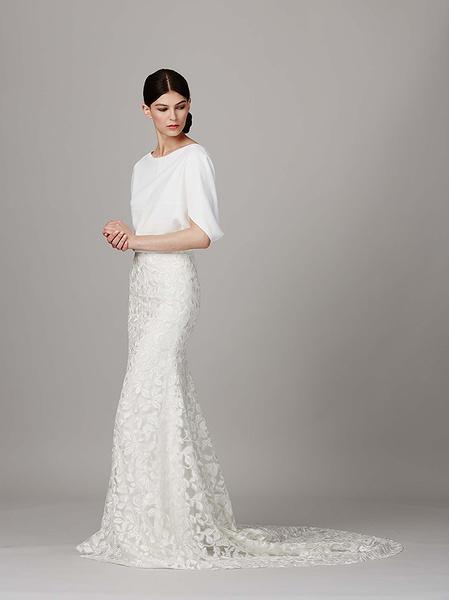 Лучшие коллекции Недели свадебной моды | галерея [2] фото [12]