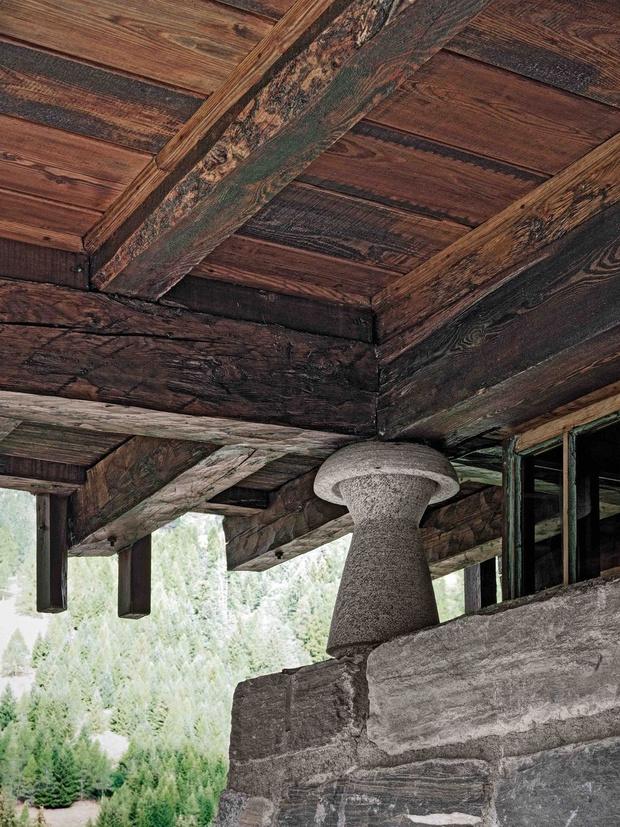 Дом-легенда: альпийская хижина по проекту Карло Моллино (фото 8)