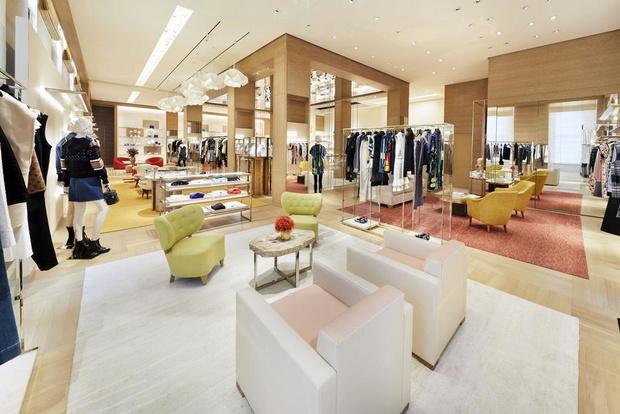 Питер Марино оформил новый флагман Louis Vuitton в Сиднее (фото 6)
