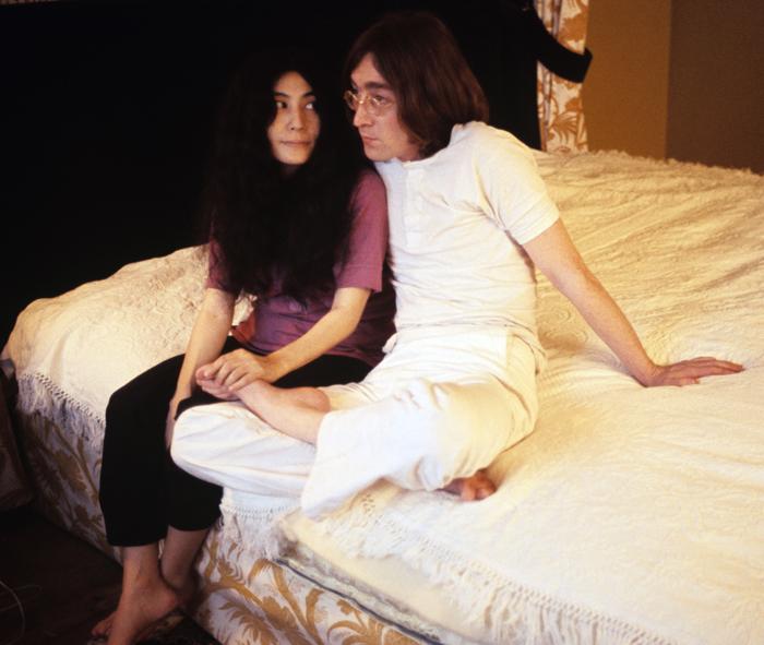 Йоко Оно и Джон Леннон фото 2