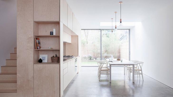 Модные кухни из фанеры: 10 удачных решений (фото 2)