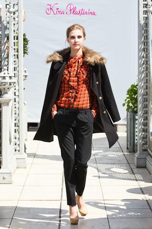 Показ Kira Plastinina коллекции сезона Осень-зима 2012-2013 года Prêt-à-porter - www.elle.ru - Подиум - фото 398359