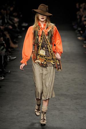Показы мод Angelo Marani Осень-зима 2011-2012 | Подиум на ELLE - Подиум - фото 2257