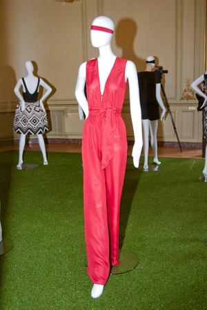 Показы мод Martin Grant Весна-лето 2014 | Подиум на ELLE - Подиум - фото 3673