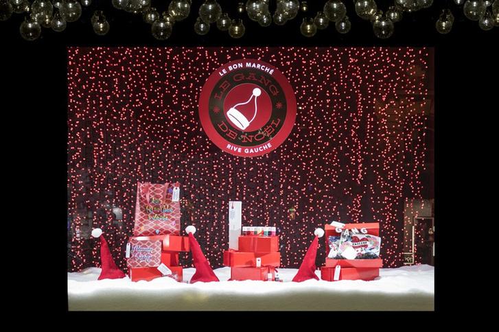 Зимняя сказка: лучший рождественский декор витрин фото [3]