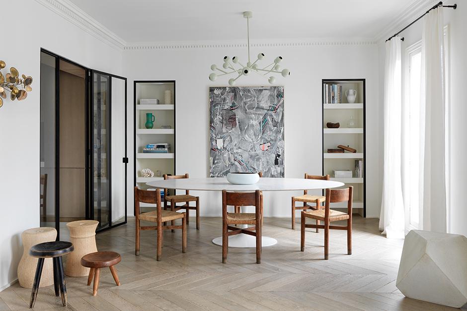 Круглый обеденный стол: 40 полезных примеров (галерея 1, фото 1)