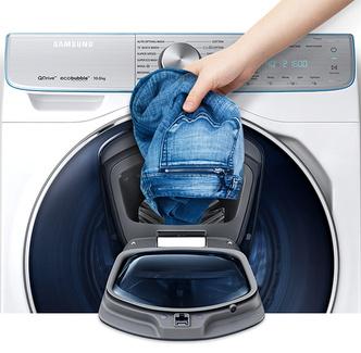 Кто быстрее? Новая серия машин Samsung стирает вещи за 39 минут (фото 0)
