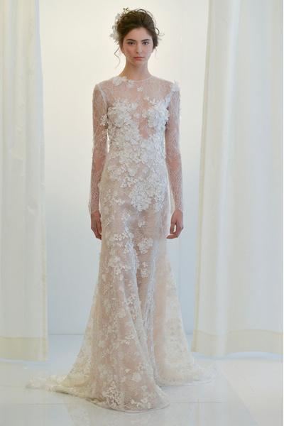50 самых красивых платьев со Свадебной Недели Моды в Нью-Йорке | галерея [1] фото [16]