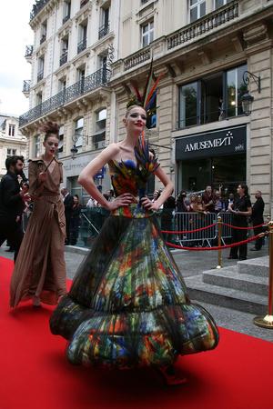 Показ Jean Paul Gaultier коллекции сезона Осень-зима 2011-2012 года haute couture - www.elle.ru - Подиум - фото 278977