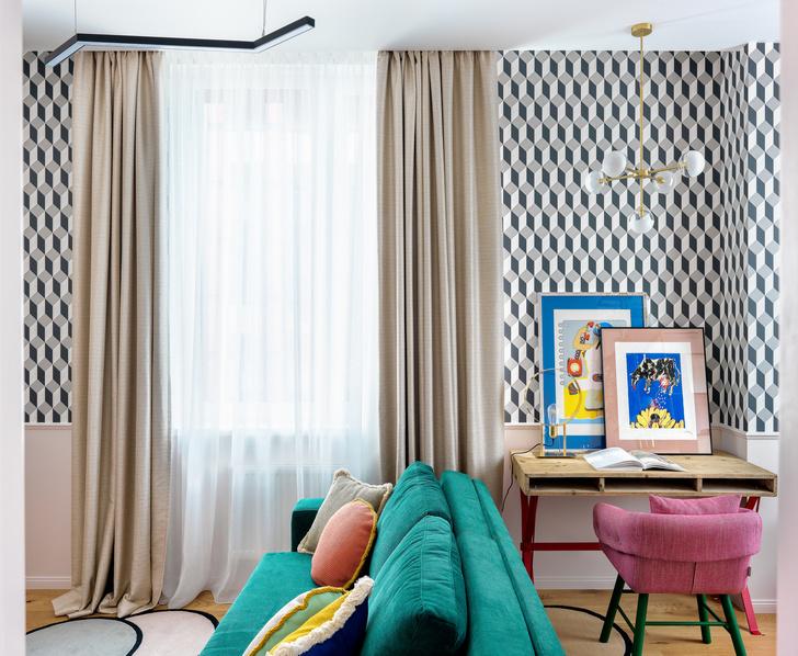 Квартира 53 м²: первое жилье для молодой девушки (фото 4)