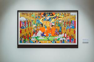Супергерои в китайский пейзажах: выставка Джеки Цая (фото 8.1)