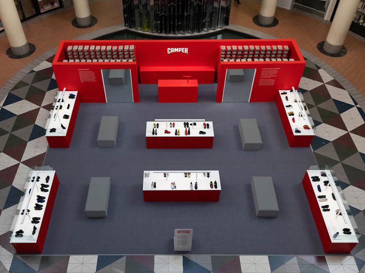 Pop-up бутик Camper по дизайну студии Asketik (фото 6)