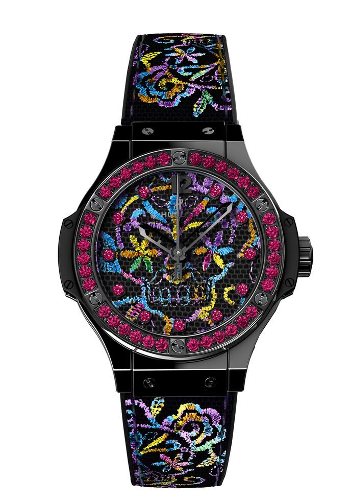 Hublot представляет часы Big Bang Broderie Skull