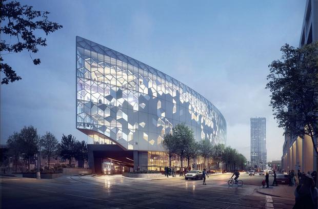 Городская библиотека в Калгари от бюро Snøhetta (фото 12)