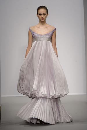 Показ Christophe Josse коллекции сезона Весна-лето 2011 года haute couture - www.elle.ru - Подиум - фото 214812