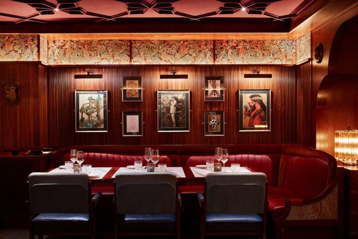 Лондонский бар Gymkhana в колониальном стиле (фото 4)