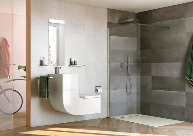 Стильная ванная комната: 10 актуальных трендов (фото 30)