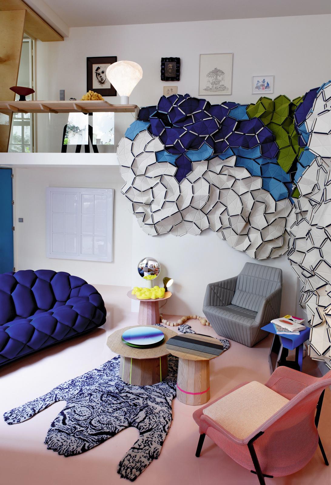 Ковер на стене: 10+ модных примеров (галерея 0, фото 3)