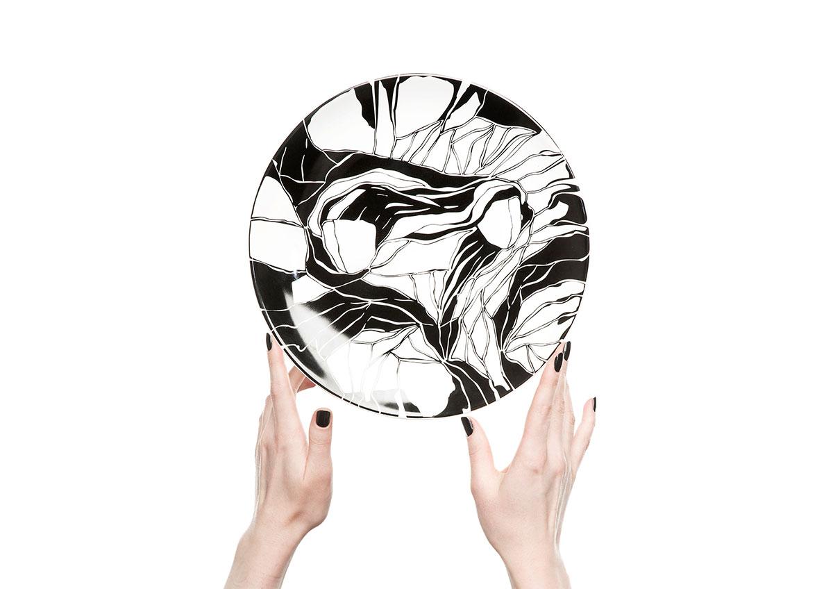 Керамические тарелки от молодого дизайнера Софии Соломко   галерея [1] фото [6]