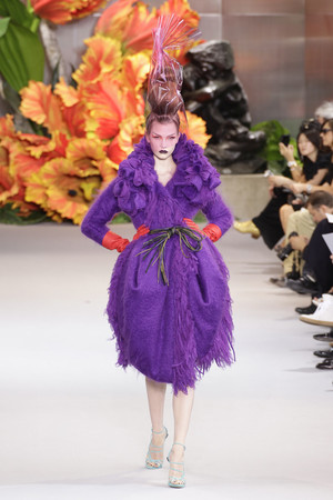 Показ Christian Dior коллекции сезона Осень-зима 2010-2011 года haute couture - www.elle.ru - Подиум - фото 167444
