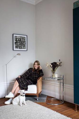 Эклектичный интерьер квартиры в Стокгольме (фото 1)