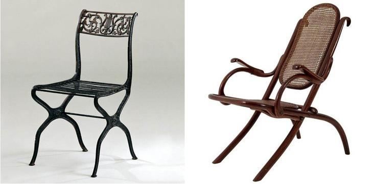 Х-файл: история мебели со скрещенными ножками фото [7]