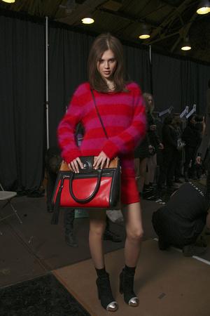 Показ DKNY коллекции сезона Осень-зима 2011-2012 года Prêt-à-porter - www.elle.ru - Подиум - фото 233367