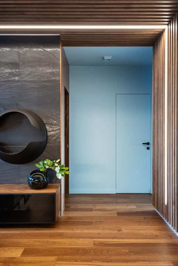 Современная квартира для холостяка 80 м² в Екатеринбурге (фото 12)
