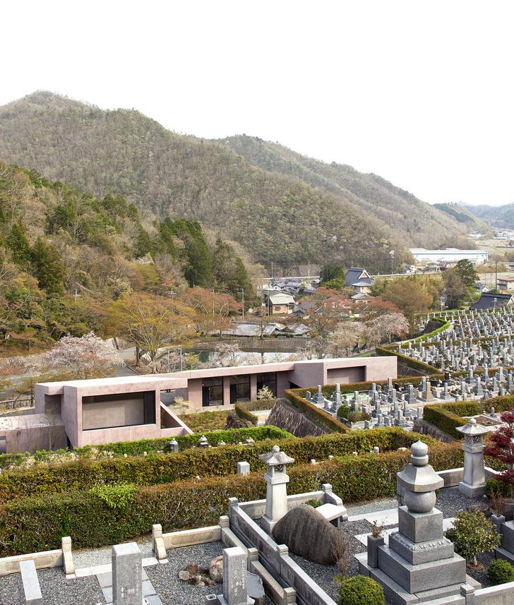 Розовая часовня Дэвида Чипперфилда в Японии (фото 0)