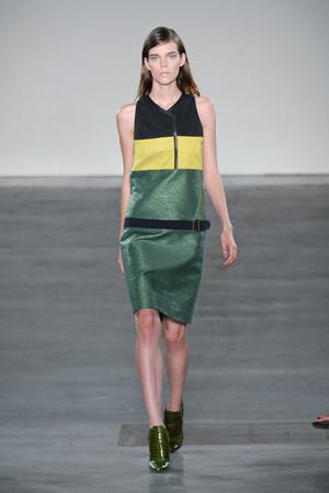 Показы мод Derek Lam Весна-лето 2013 | Подиум на ELLE - Подиум - фото 1284
