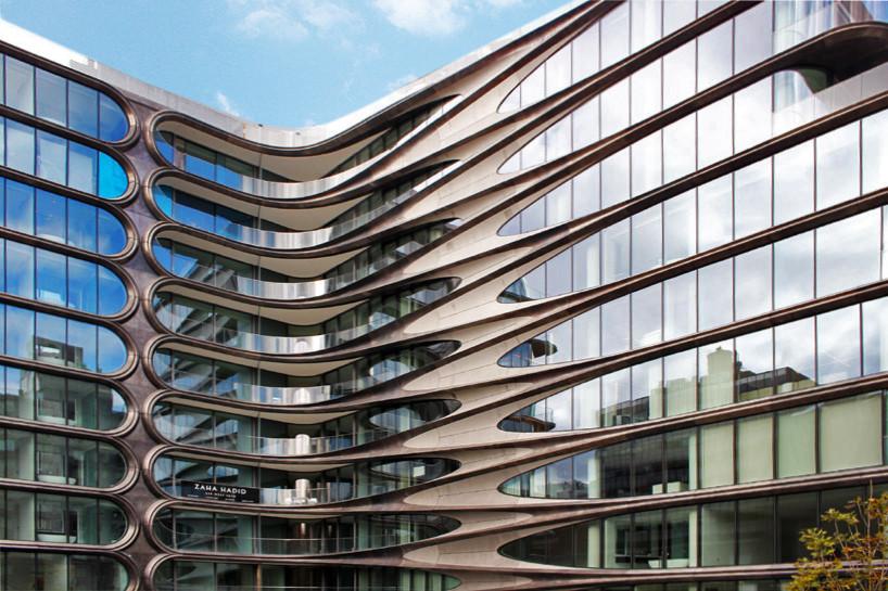 Первое жилое здание Захи Хадид в Нью-Йорке готово к заселению | галерея [1] фото [13]