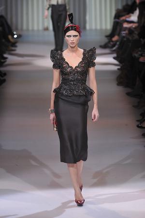 Показ Giorgio Armani Privé коллекции сезона Весна-лето 2009 года haute couture - www.elle.ru - Подиум - фото 86755