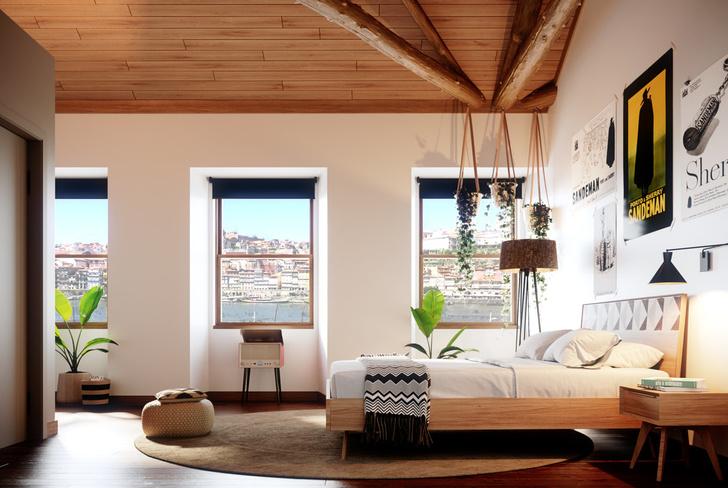 Дизайнерский хостел в Португалии (фото 10)